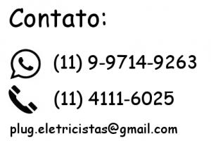 Plug Eletricista Contato